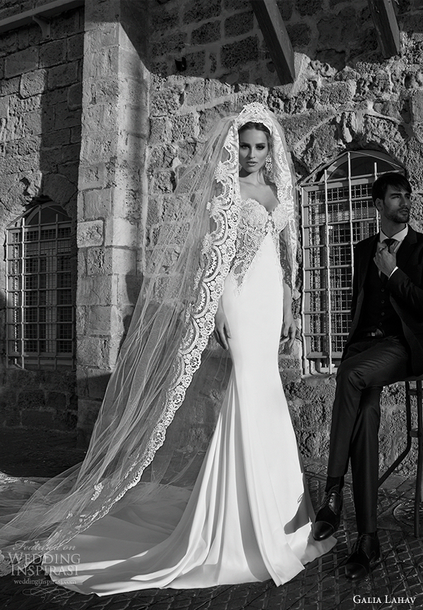 Galia Lahav Bridal Spring 2017 Wedding Dress Corso Front View