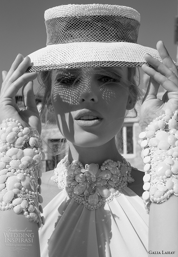 galia Lahav costura primavera vestido de noiva 2015 florentina zoom