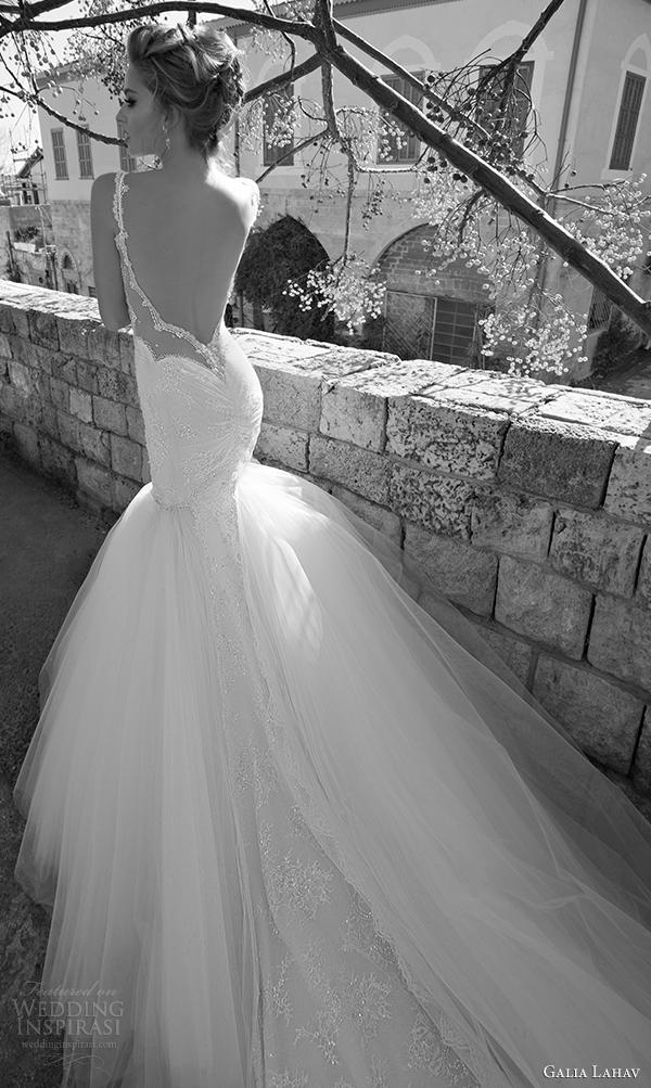 galia primavera Lahav vestido de noiva vista 2015 augusta de volta