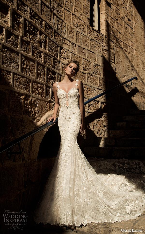 primavera vestido de noiva galia Lahav 2015 vista frontal Pricilla
