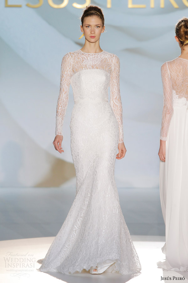 Long Sleeve Wedding Dress Online 98 Cute jesus peiro long sleeve