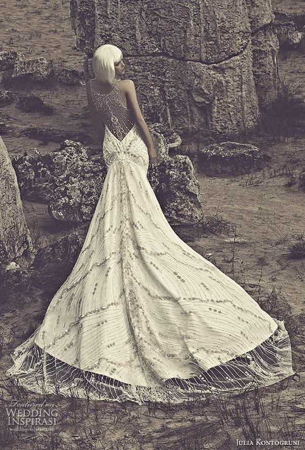 julia kontogruni 2015 wedding dress crystal illusion back view