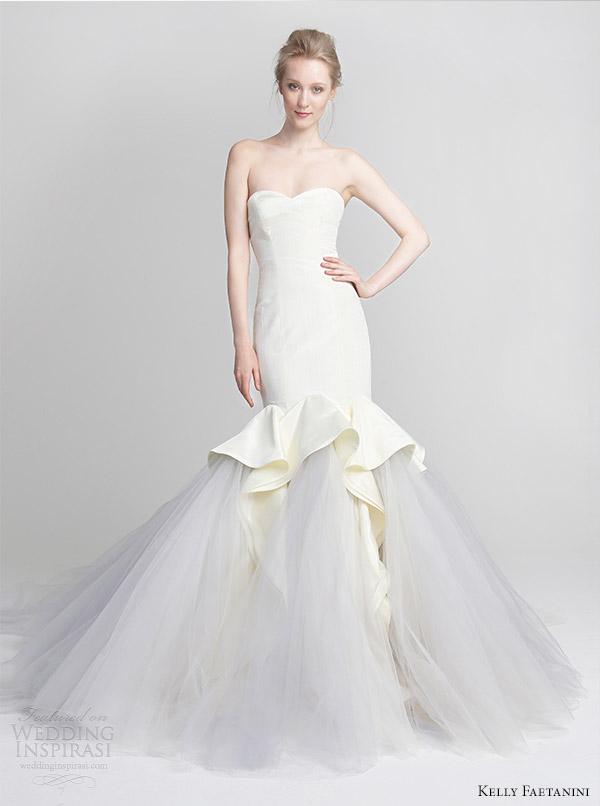 Lilac Wedding Gown 95 Good kelly faetanini spring wedding