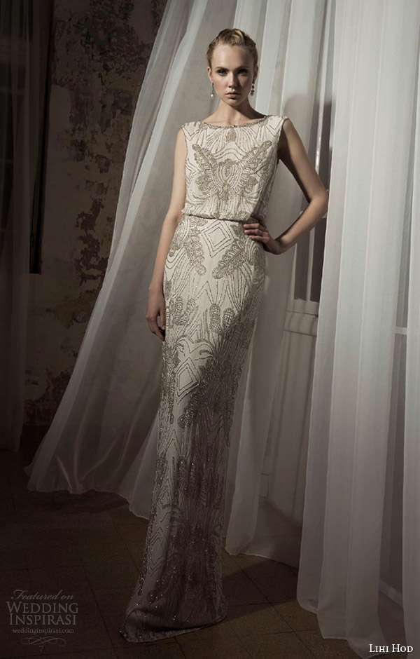 Lihi Hod Spring 2014 Wedding Dresses — Bijoux Bridal Collection ...
