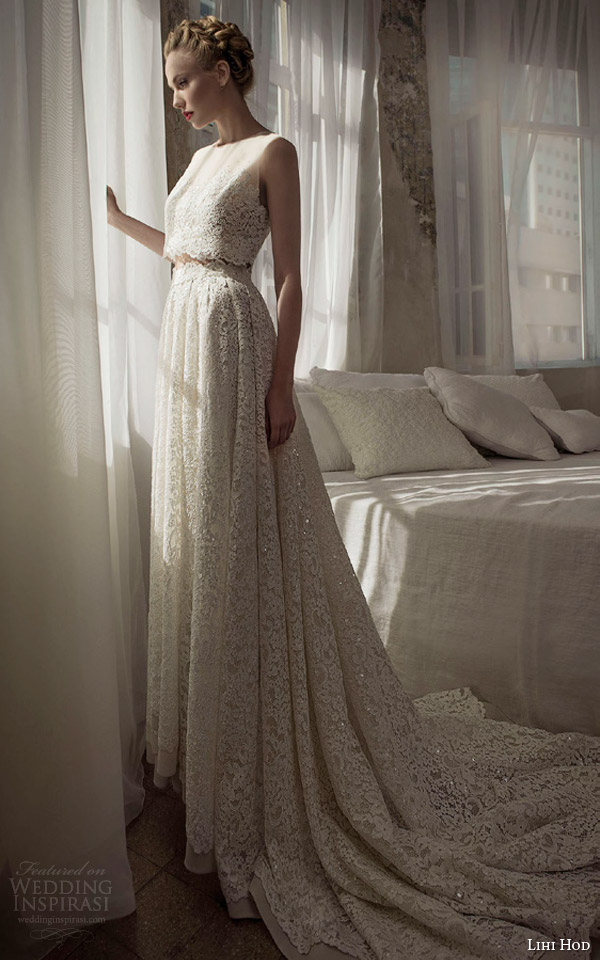 Lihi hod spring 2014 wedding dresses bijoux bridal for Wedding dress skirt and top