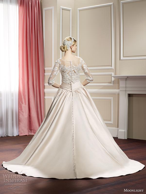 Moonlight Collection Fall 2014 Wedding Dresses Wedding