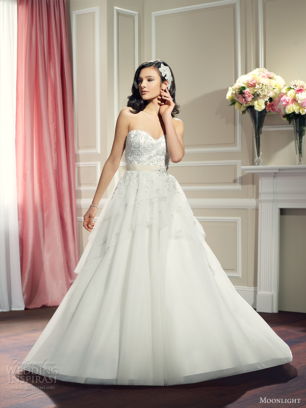 Organza And Tulle Wedding Dresses 39 Elegant moonlight collection fall wedding