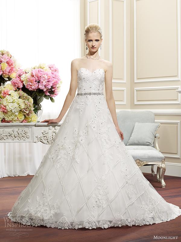 Flapper Wedding Dress 38 Vintage moonlight couture fall wedding