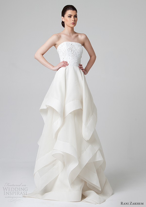 Rani Zakhem Spring 2014 Wedding Dresses | Wedding Inspirasi