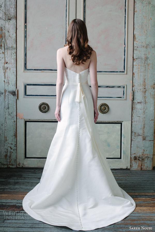 Sareh Nouri Spring 2015 Wedding Dresses Wedding Inspirasi