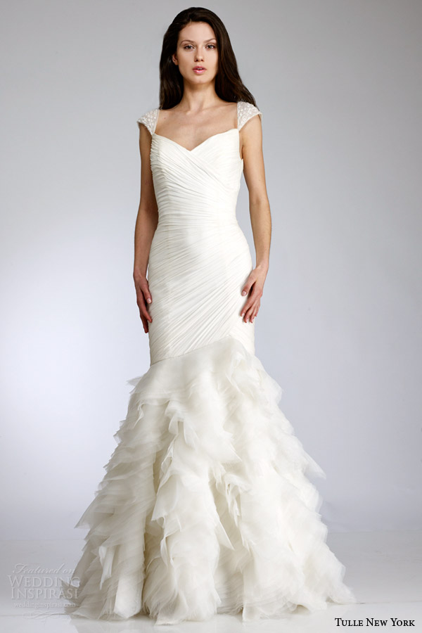 tulle new york antonio gual bridal spring 2015 wedding dress koi dora
