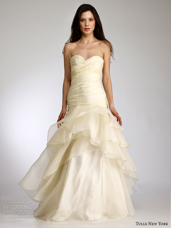 tulle new york bridal spring 2015 wedding dress koi ellianna front view