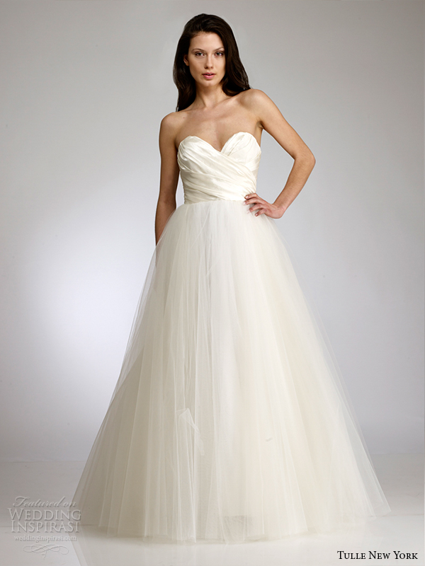 tulle new york by antonio gual spring 2015 wedding dress koi sophie front view