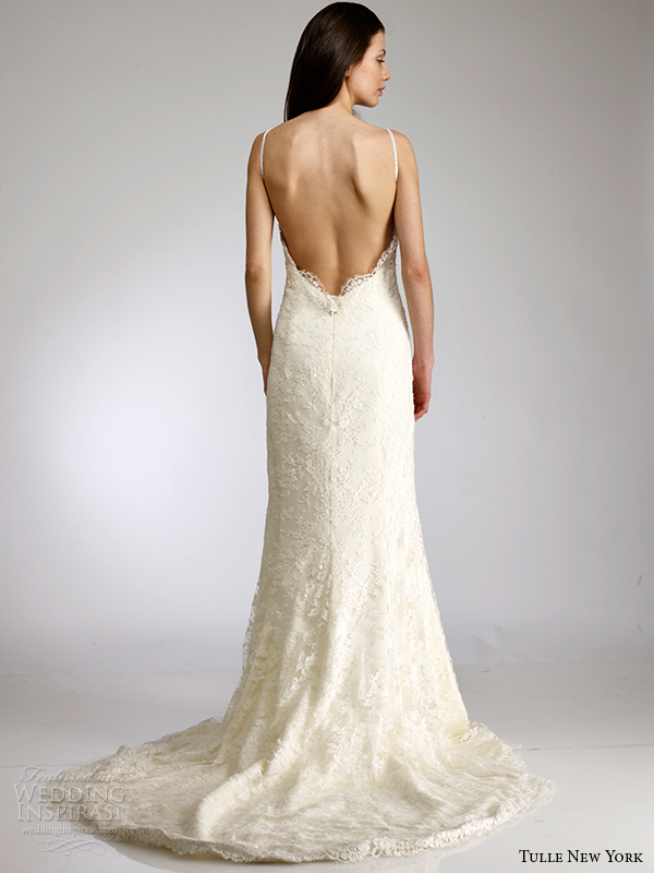 tulle new york spring 2015 wedding dress koi brielle back view open back