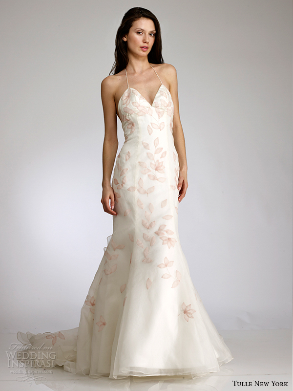 tulle new york spring 2015 wedding dress koi brittainy front view