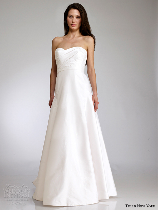 tulle new york spring 2015 wedding dress koi cindy front view