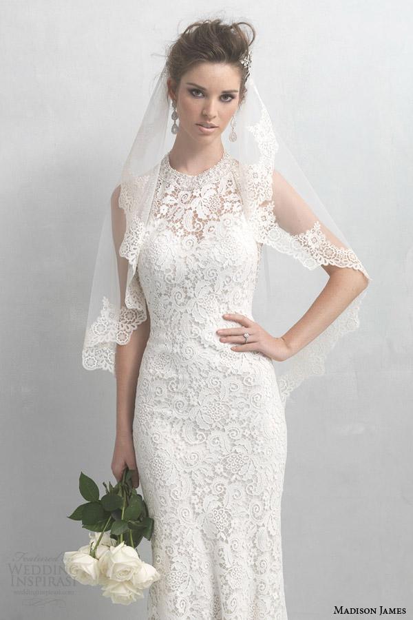 allure bridals madison james 2014 wedding dress style mj18 veil