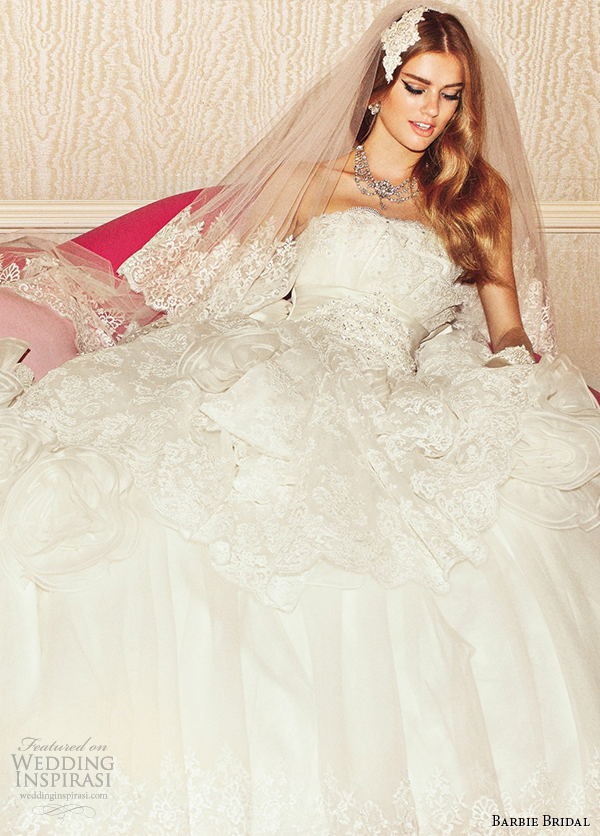 Barbie Bridal Wedding Dresses — Eleventh Bridal Collection ...