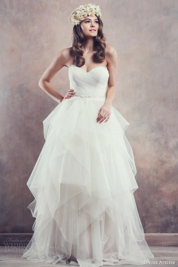 e2cef1a767f2 Divine Atelier 2014 Wedding Dresses — Poetica Bridal Collection ...