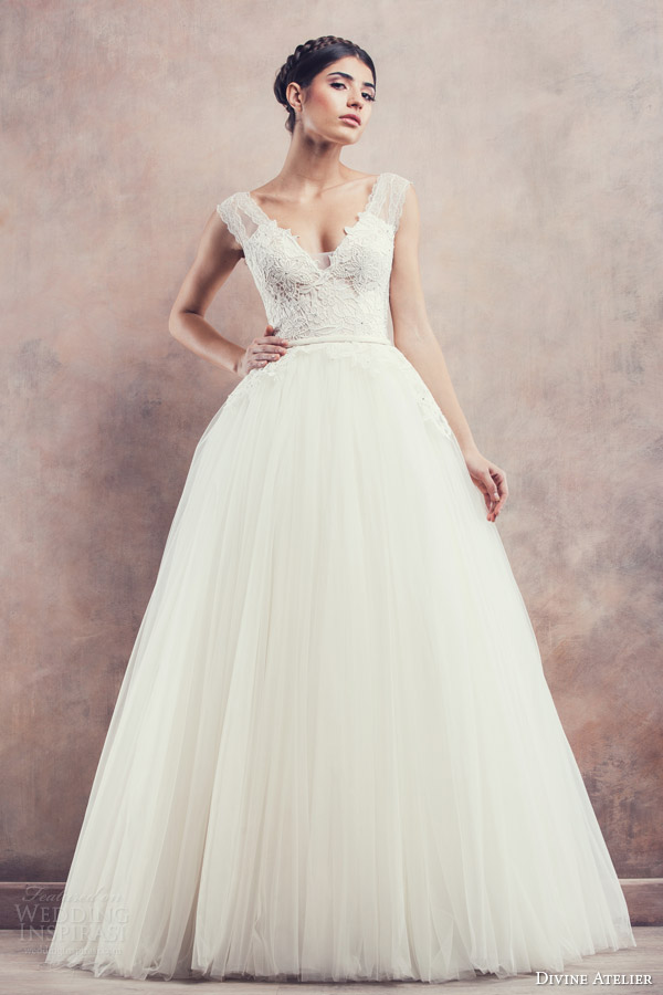 divine atelier bridal 2014 april ball gown wedding dress