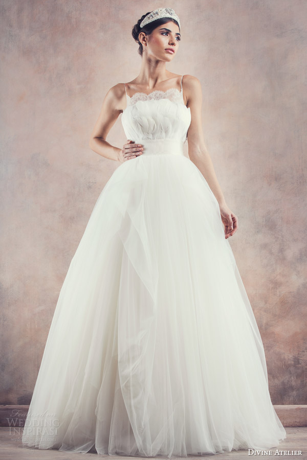 divine atelier bridal 2014 flavia ball gown wedding dress