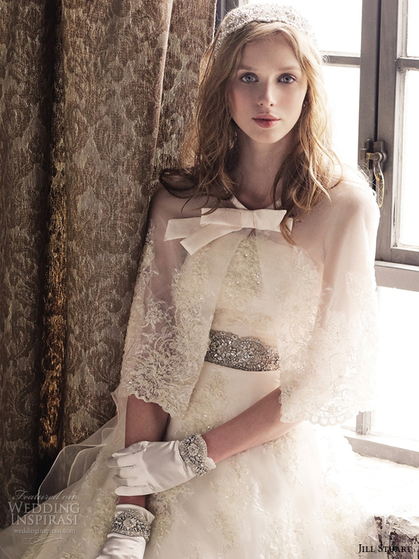 jill stuart 2014 wedding dress 11th collection 0161 off white