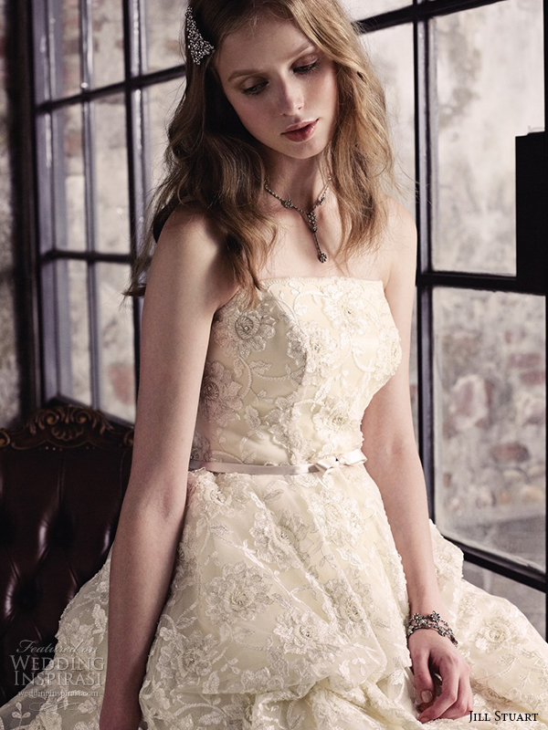 jill stuart 2014 wedding dress 11th collection 0162 off white
