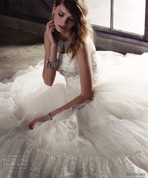 jill stuart 2014 wedding dress 11th collection 0164 off white