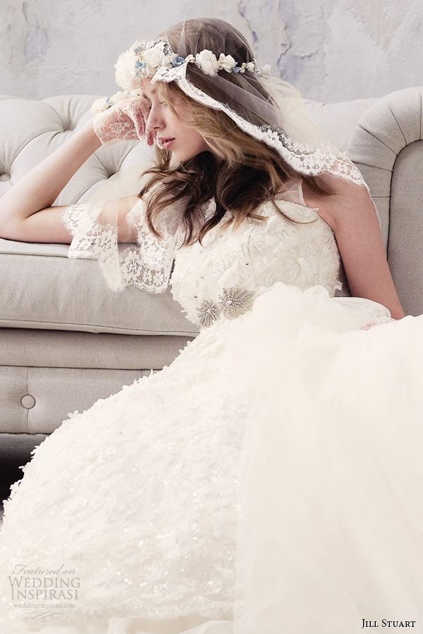 jill stuart 2014 wedding dress 11th collection 0169 off white