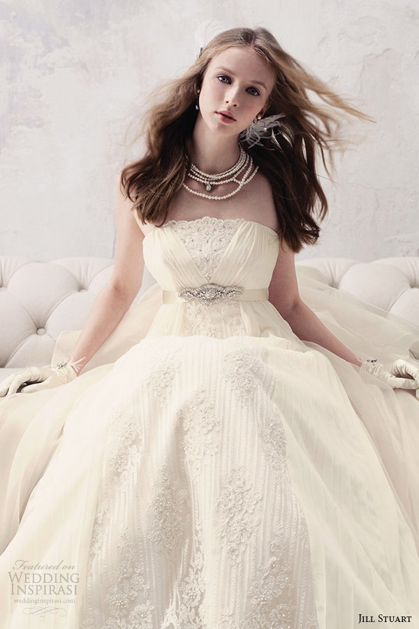 jill stuart 2014 wedding dress 11th collection 0172 off white
