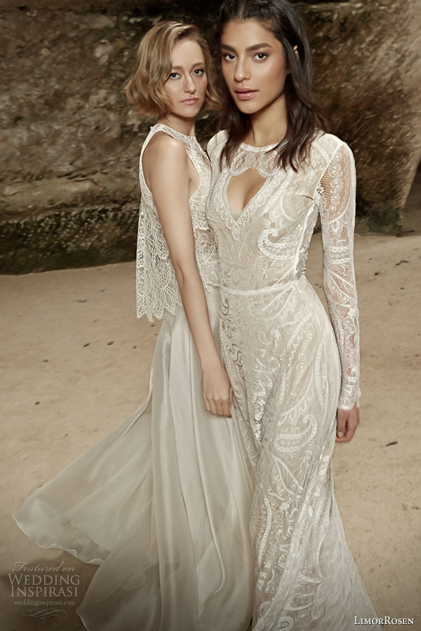 limorrosen 2014 wedding dress sleeveless sleeves sara and surma
