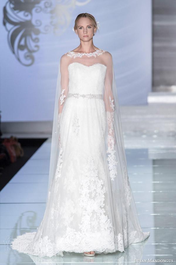 floor length cape dresses