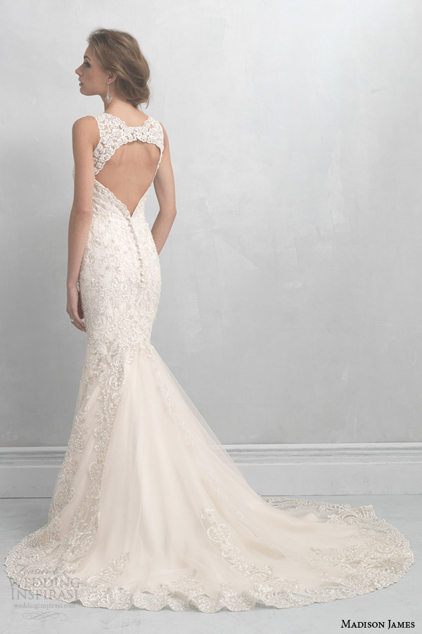madison james 2014 sleeveless wedding dress style mj15 back
