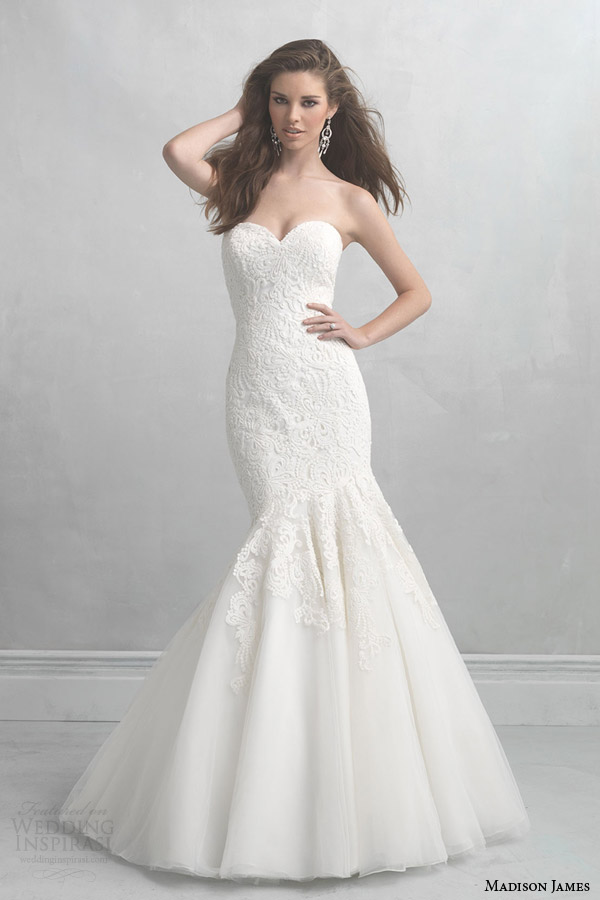 madison james 2014 strapless wedding dress style mj17