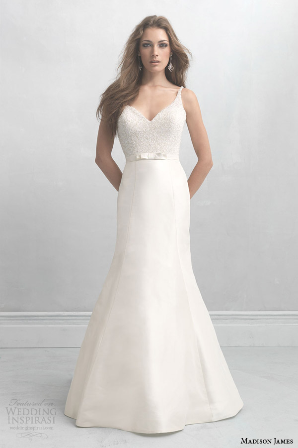 madison james bridal 2014 sleeveless wedding dress style mj09 straps
