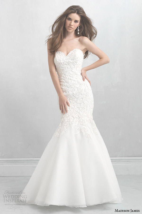 madison james bridal 2014 strapless mermaid gown style mj08