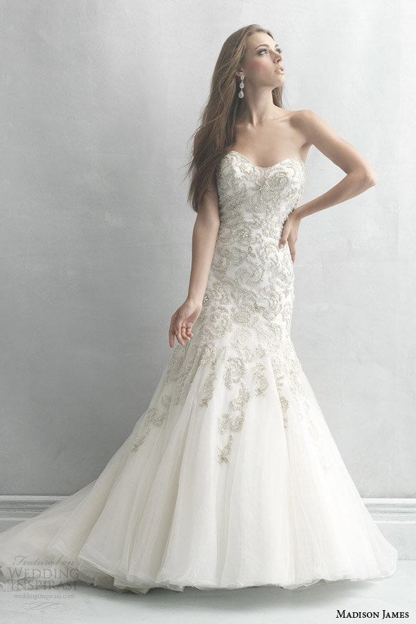 Allure Bridals Madison James Collection 2014 Wedding