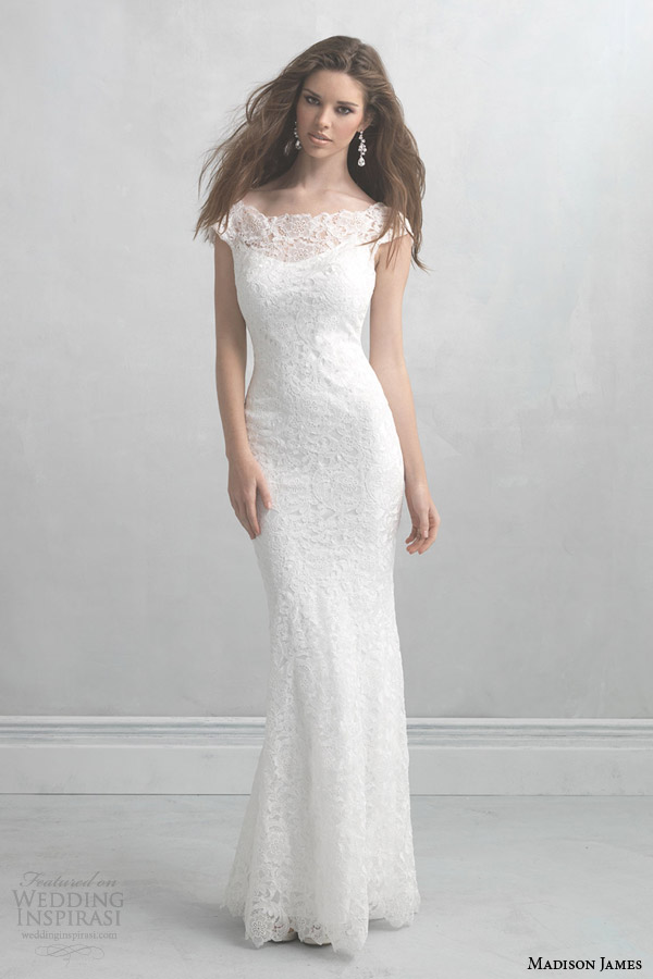 madison james wedding dresses 2014 cap sleeve gown style mj06