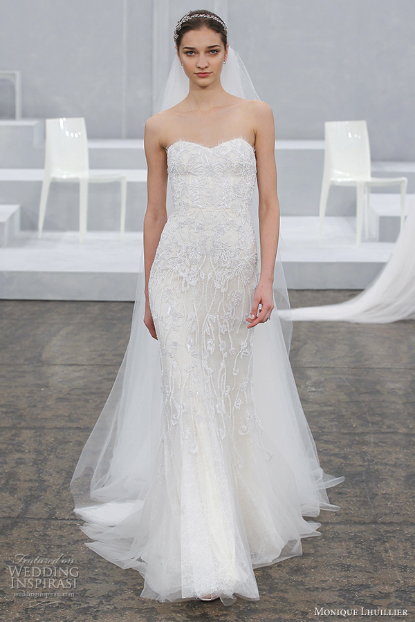 Monique lhuillier spring 2015 wedding dresses us57 for Monique lhuillier pink wedding dress