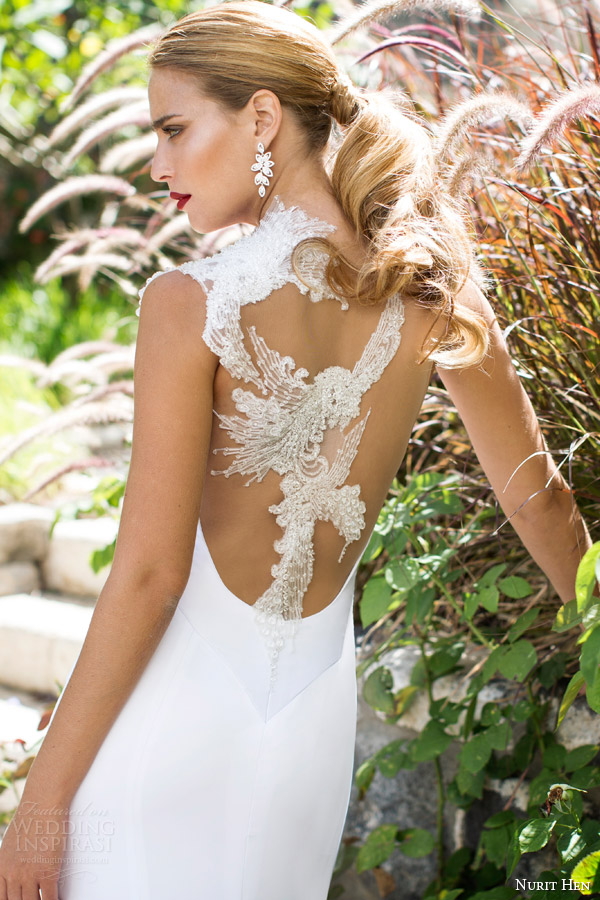 Wedding Gowns For Second Time Brides 83 Fabulous nurit hen bridal spring