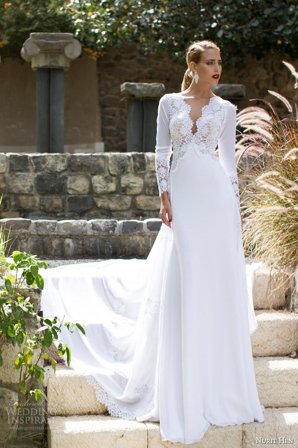 Nurit Hen Summer 2017 Wedding Dresses Part 2 Inspirasi