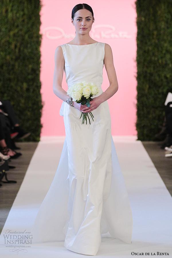 oscar de la renta bridal 2015 ivory radzimir trumpet mermaid wedding dress constance