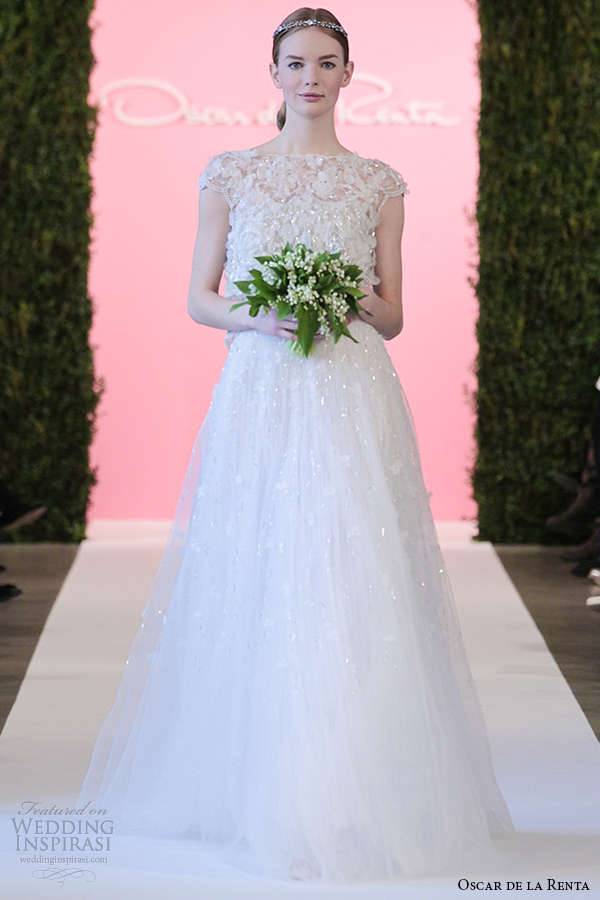 Oscar De La A Bridal 2017 Wedding Dresses