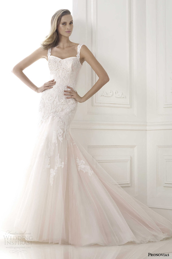 Pronovias 2015 Pre-Collection Wedding Dresses — Glamour Bridal ...