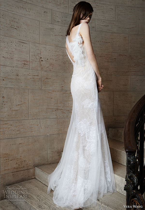 vera wang spring 2015 bridal collection wedding dress 5 back view