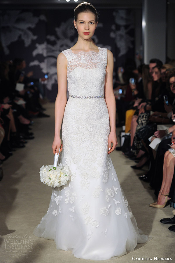 621fe1f0a1067 Carolina Herrera Bridal Spring 2015 Wedding Dresses | Wedding Inspirasi