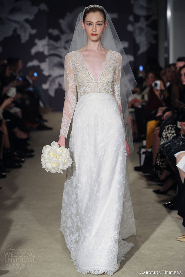 Carolina Herrera Bridal Spring 2015 Wedding Dresses