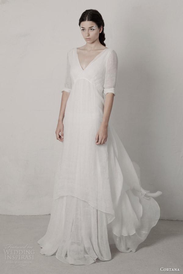 cortana 2015 bridal beso wedding dress with sleeves