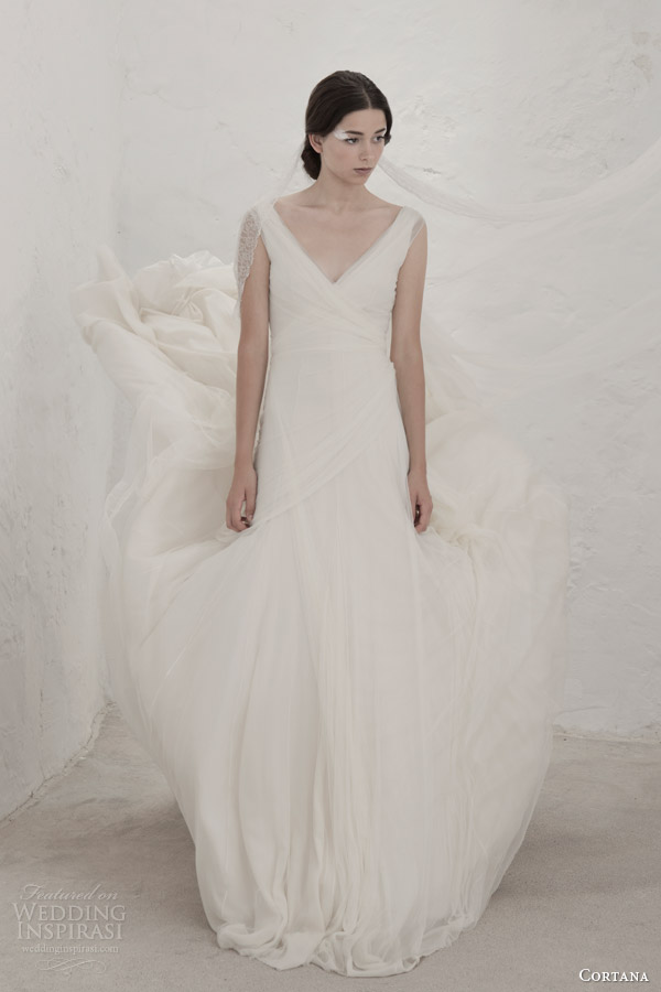 cortana bridal 2015 gypsy wedding dress cristina tulle