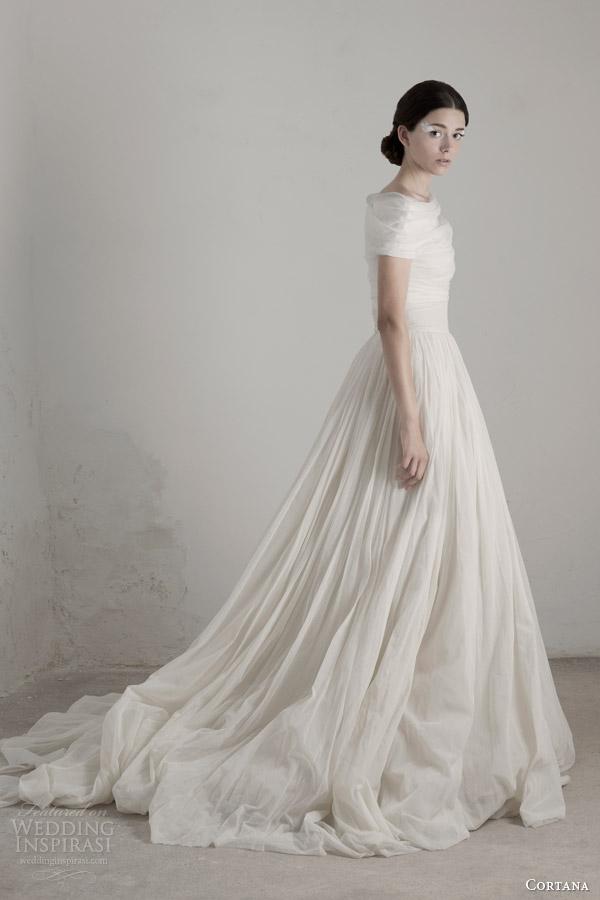 cortana wedding dresses 2015 tutu skirt with caracola top